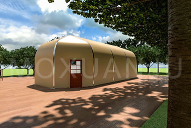 Study Tour Glamping Tent