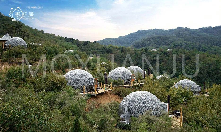 Geodesic Dome Glamping for sale