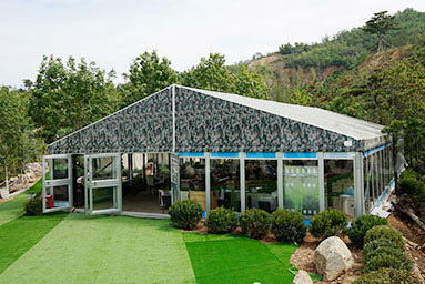 Outdoor Covered Restaurant