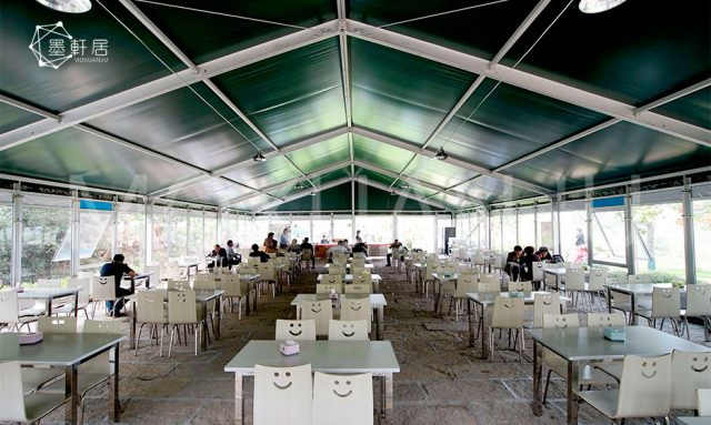 indoor Outdoor Covered Restaurant