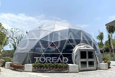 Half Dome Glamping 1