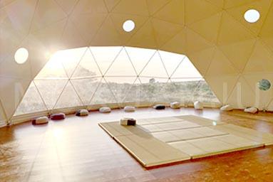 Yoga Meditation Tent