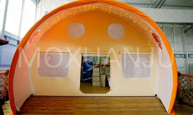Ladybug Dome Glamping