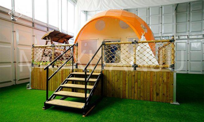 Ladybug Dome Glamping tent 1