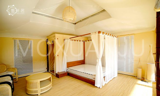 Pattaya Glamping Tent indoor