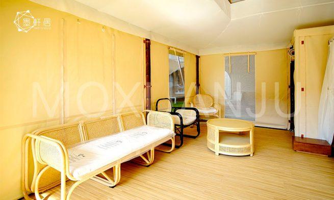 Pattaya Glamping Tent interior design