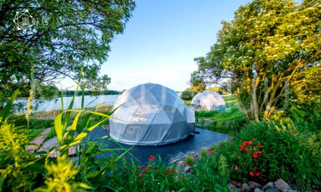 Glamping Dome Green House Tent