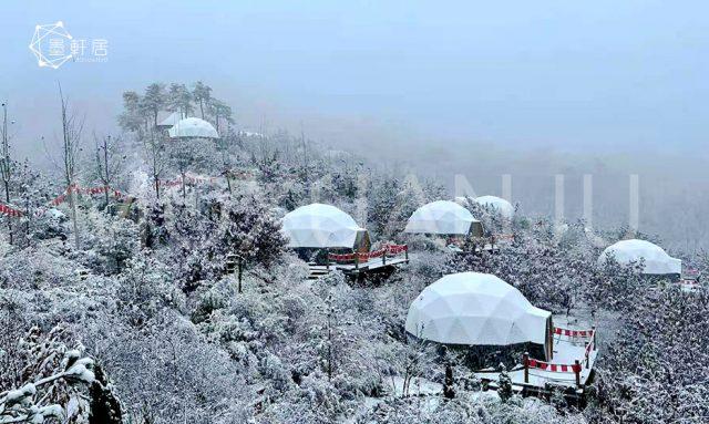 Winter Resort Glamping Domes