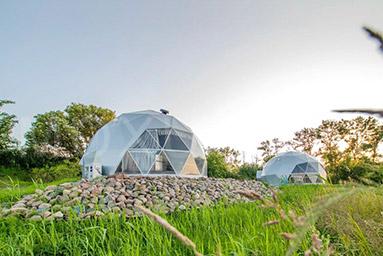 8m Diameter Eco Living Dome