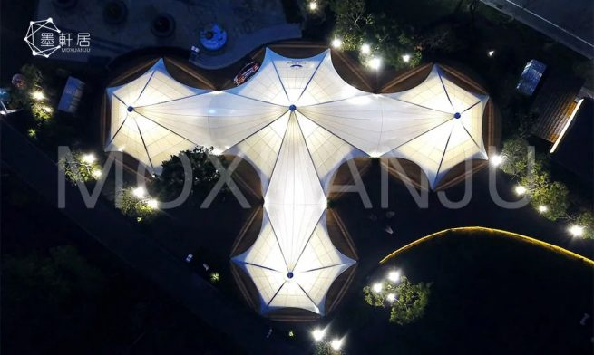 Star Tent High altitude shooting
