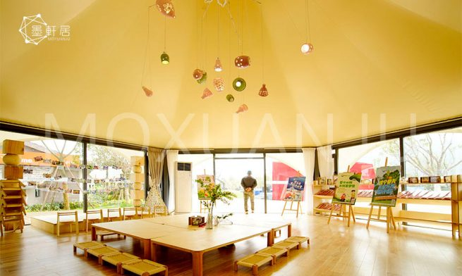 Star Tent inside