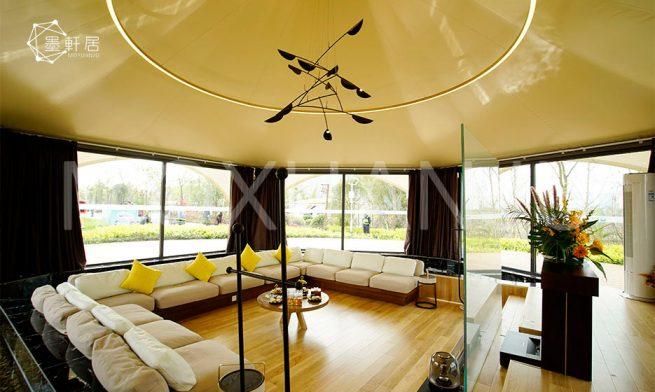 Star tent Living room