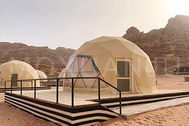 Desert Glamping Tent