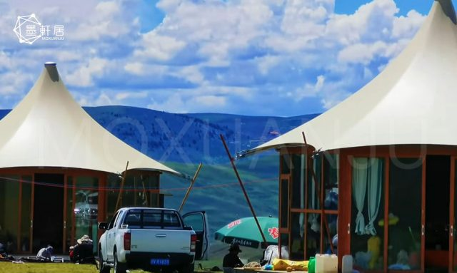Custom Waterproof Glamping Large Luxury Outdoors Hotel Safari