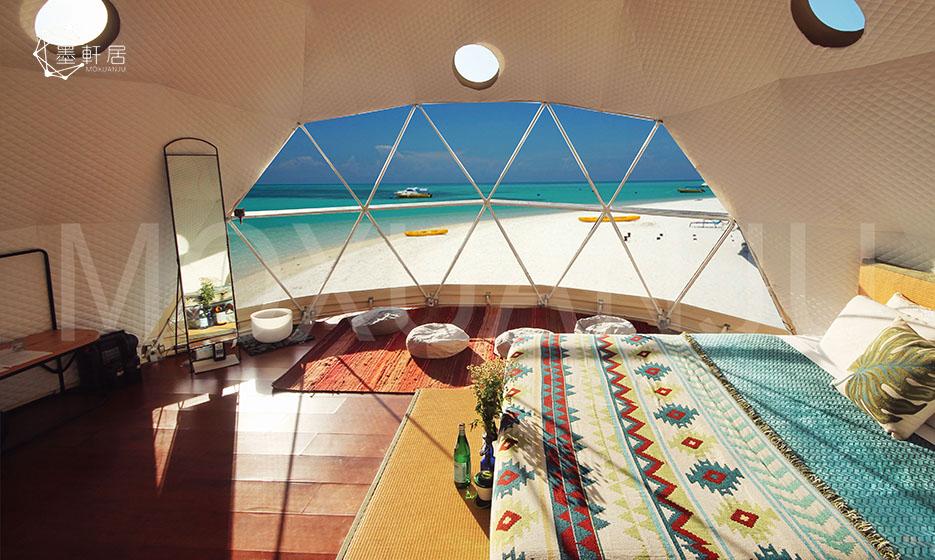 Luxury Beach Glamping Tent