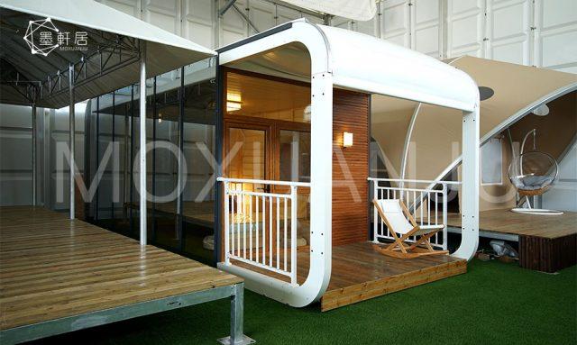 outdoor sleeping pods