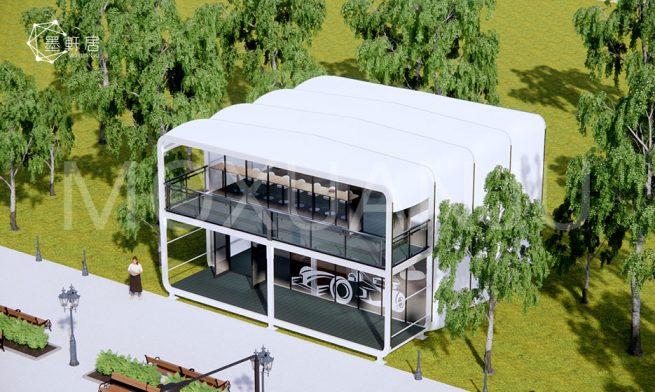 2 Storey House with Panoramic Windows