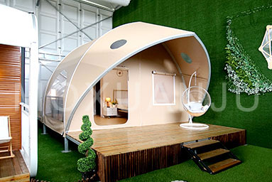 5m Shell Shape Glamping Tent