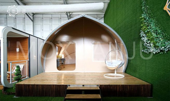 Permanent Glamping Tent Structures