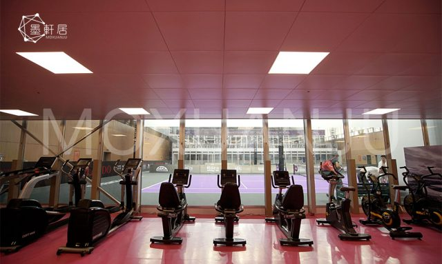 Shade Structures for Outdoor Gyms Fitness Areas