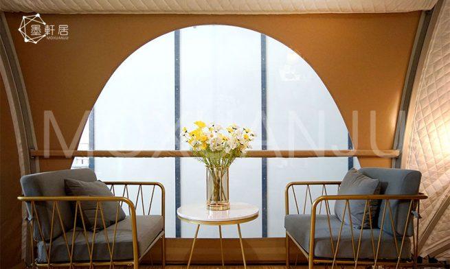 Shell Shape Luxury Campsites