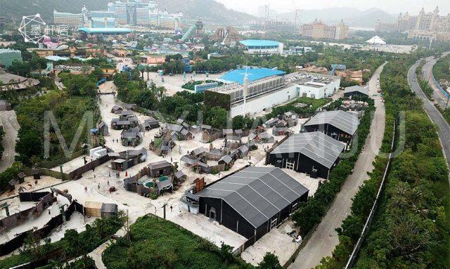 Theme Park Fabric Buildings