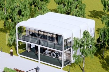 Two Story Glamping Box