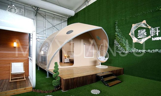 Waterproof Cotton Glamping Tent