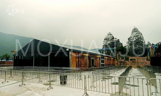 amusement parks temporary building