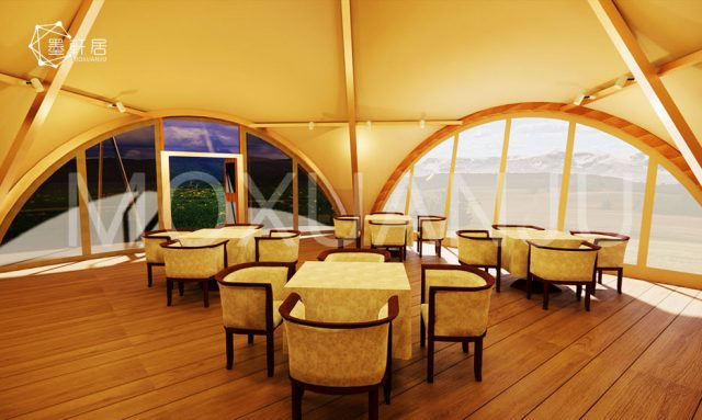 Hat Teepee Tent for Dining