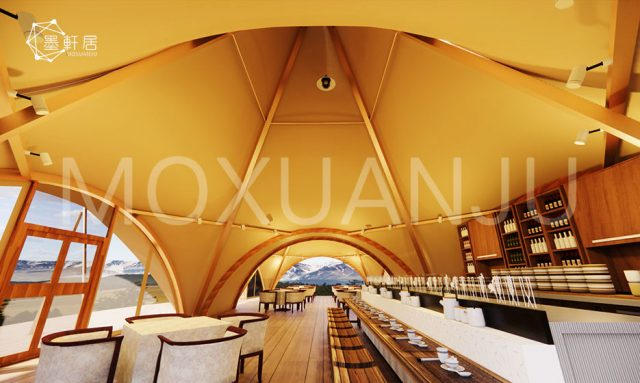 Large Teepee Tent for outside drinking