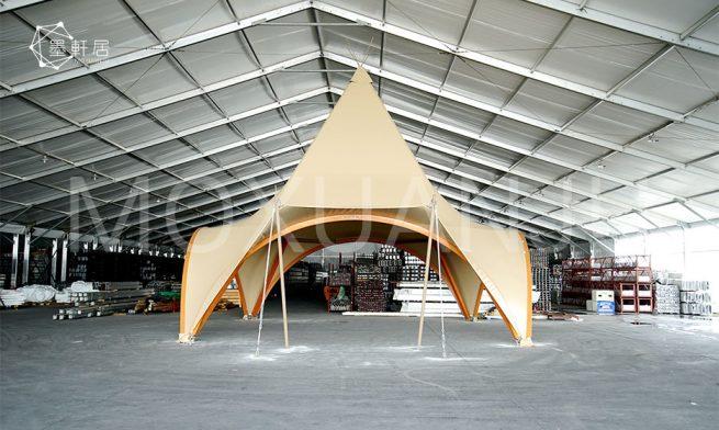 New Design Luxury Teepee Glamping Resort