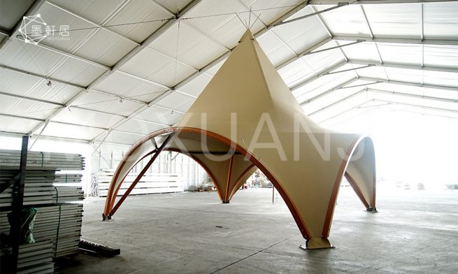Teepee Tent Luxurious Glamping