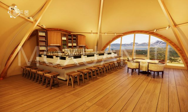 Uniquely Teepee tent design