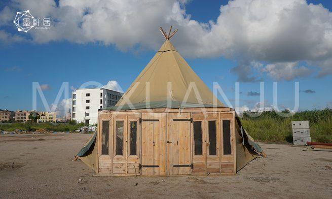 Glamping Tipi Tent Photos