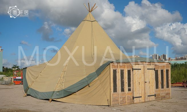Luxury Glamping Tipi Tent