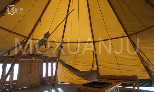 Luxury Vacations in Tipi Glamping Tent