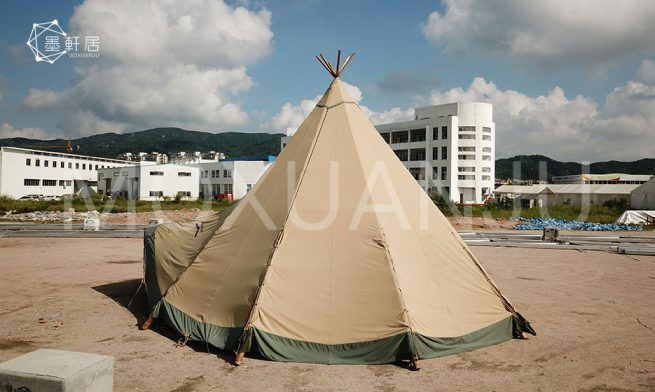 Outdoor Camping Tipi Glamping Tent