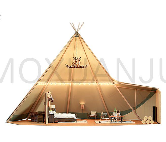 Tipi Glamping Tent Design 2